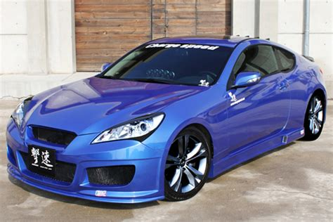 charge speed hyunday genesis pc body kit