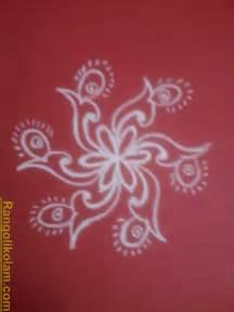 Pin Simple Flower Kolam on Pinterest