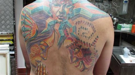 Back Piece Tattoo In Progress