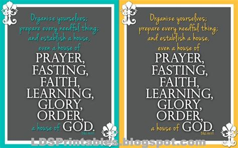 Fasting Quotes Prayer Lds And Quotes