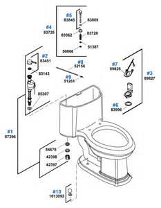 Kohler Replacement Toilet Tank Parts