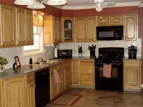 kitchen remodel ideas with oak cabinets cool kitchen color ideas with oak cabinets and black 9533