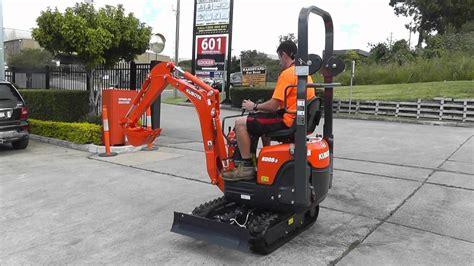 kubota   mini excavator southern tool equipment youtube