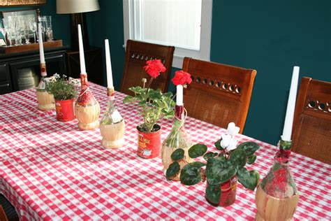 Italian Decorations For Home: Chianti Candle Bottles