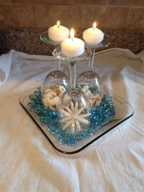 wine glass beach wedding centerpiece wedding planning in
