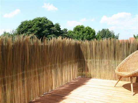 Garten Sichtschutz Bambus Natur by Balkon Sichtschutzmatten Aus Weide Bambus Schilfrohr Co