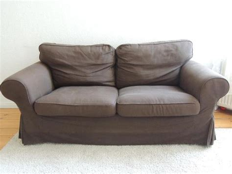 ikea sofa knislinge 2er ikea ektorp 2er sofa mit bezug svanby braun in berlin