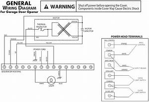 Craftsman Garage Door Sensor Wiring Diagram  Craftsman