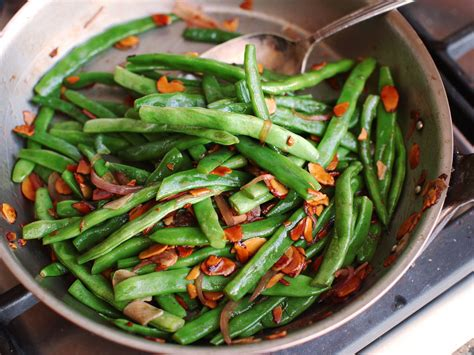 haricots verts amandine french style green beans
