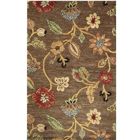 home decorators collection rugs home decorators collection portico brown 8 ft x 11 ft 42136