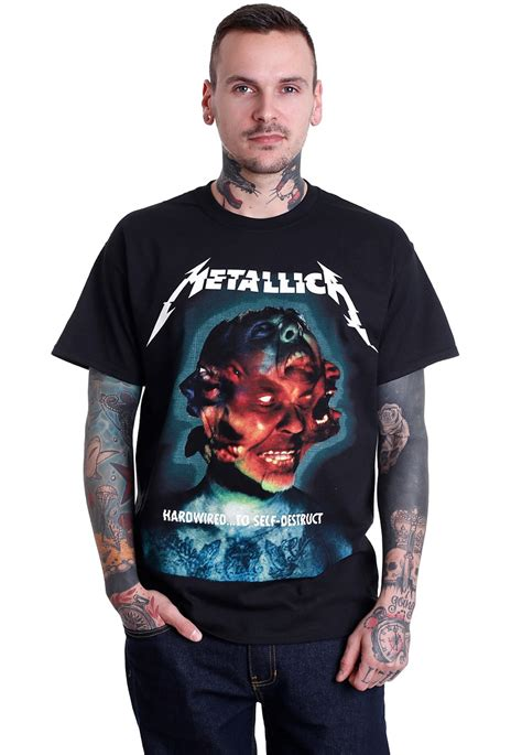 metallica hardwired album cover t shirt official