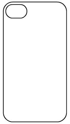 iPhone 6 Case Template Printable | General | Pinterest