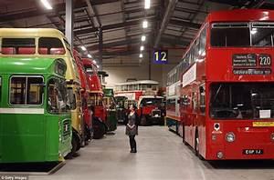 London Transport Museum depot opens its doors to public ...