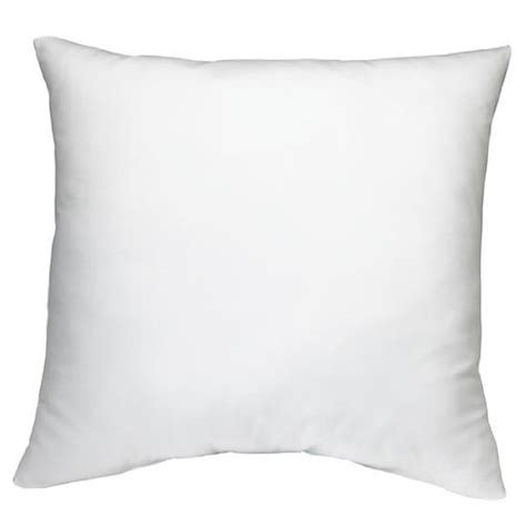 18 x 18 pillow insert 18 quot x 18 quot square poly pillow insert buy pillow hotel