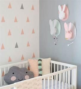 Baby Kinderzimmer Gestalten : kinderzimmer gestalten idee wolken hasen origami k pfe baby pinterest kinderzimmer ~ Markanthonyermac.com Haus und Dekorationen