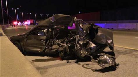 Driver in very critical condition after multi-vehicle ...