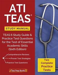 Ati Teas Study Manual  Teas 6 Study Guide  U0026 Practice Test