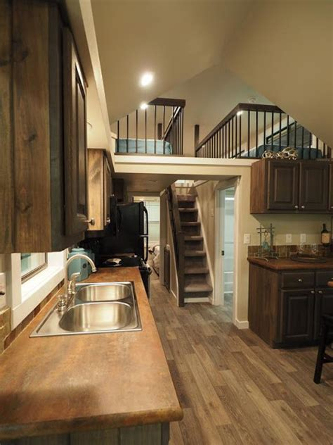 tiny house town  lakeview park model home