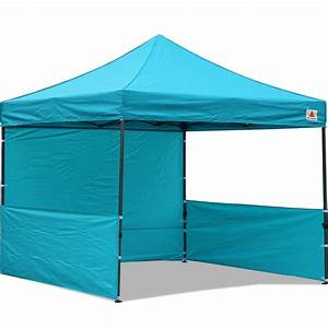AbcCanopy 10x10 Deluxe Turquoise Pop Up Canopy Trade Show