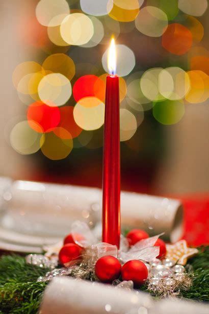 christmas candle decoration free stock photo public