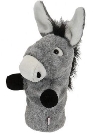 donkey golf head cover