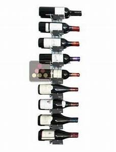 Support Bouteille Mural : 1000 images about rangement vin casiers bouteilles on pinterest murals fine wine and caves ~ Carolinahurricanesstore.com Idées de Décoration