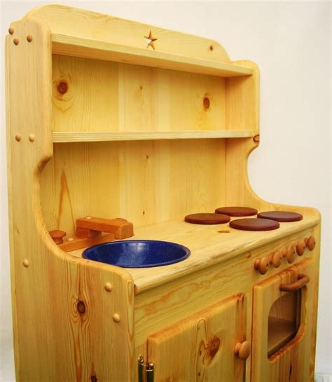 wooden kitchen playsets wood play kitchen sets homesfeed