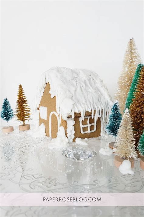 easy gingerbread house  images easy gingerbread