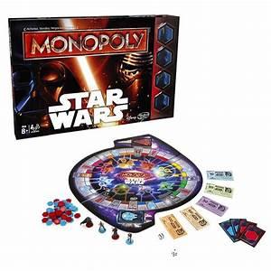 Monopoly Star Wars Hasbro : King Jouet, Jeux de stratégie Hasbro Jeux de société