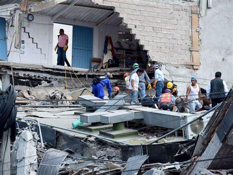 Over 230 Dead In Mexico Quake As Rescuers Desperately