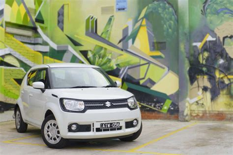 Suzuki Ignis Backgrounds by 2017 Suzuki Ignis Gl Manual Review Wheels