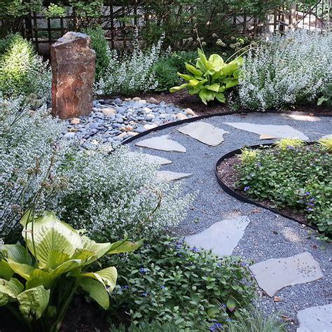 Evanston Rustic Zen Garden: Greenwise Landscape Design ...
