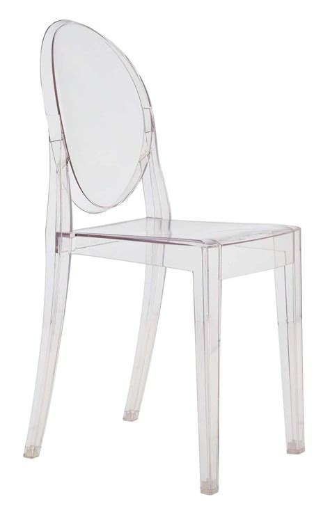 chaises philippe starck chaise empilable ghost transparente