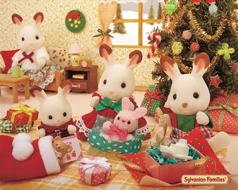 calico critters  sylvanian families images