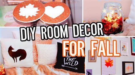 diy room decor for fall make your room cozy no sew