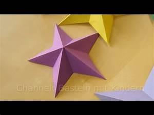 Sterne Weihnachten Basteln : bastelideen weihnachten weihnachtssterne basteln mit papier sterne youtube ~ Eleganceandgraceweddings.com Haus und Dekorationen