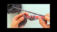 DIY 編織教學 織頸巾 圍巾 【低針、高針教學】 - YouTube
