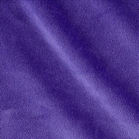 Velour Upholstery Fabric by Solid Velour Lavender Discount Designer Fabric Fabric