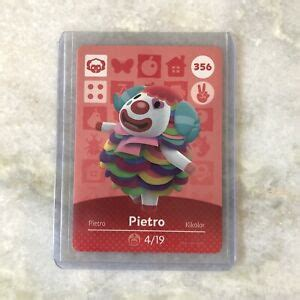 Please note that the waves and release dates are those of the north american release. Pietro *Authentic* W/ Tracking 356 Series 4 Animal Crossing Amiibo Card Nintendo | eBay