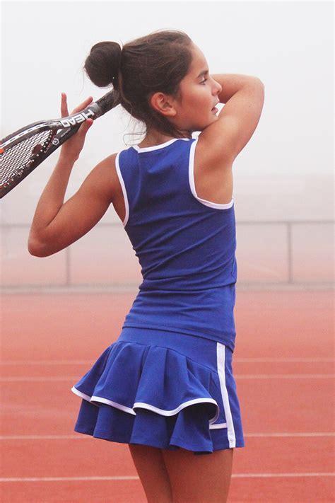 Angelique Tennis Outfit | Girls Tennis Apparel by Zoe Alexander UK