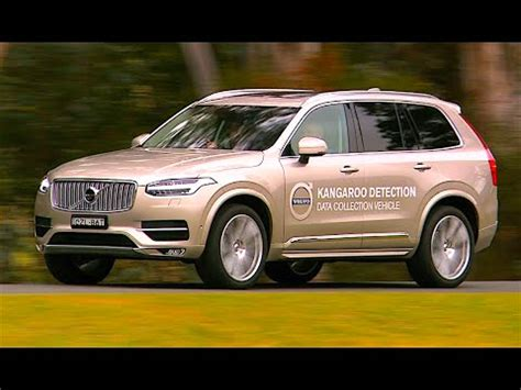 volvo xc  kangaroo crash test avoidance safety