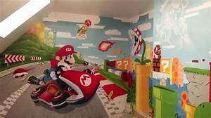 chambre avec papier peint 3 chambre denfant ou With papier peint salle de jeux