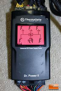 Thermaltake Dr  Power Ii Atx Power Supply Tester Review