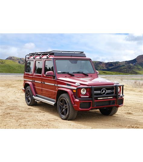 mercedes g wagon mercedes g wagon 4door 183 stealth rack 183 multi light setup