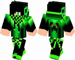 Green Creeper Boy Minecraft Skin Minecraft Hub