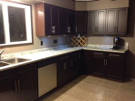 kitchen espresso cabinets espresso shaker frameless kitchen cabinets 40 1599
