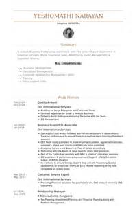 Quality Analyst Resume Exle by Quality Analyst Resume Sles Visualcv Resume Sles Database