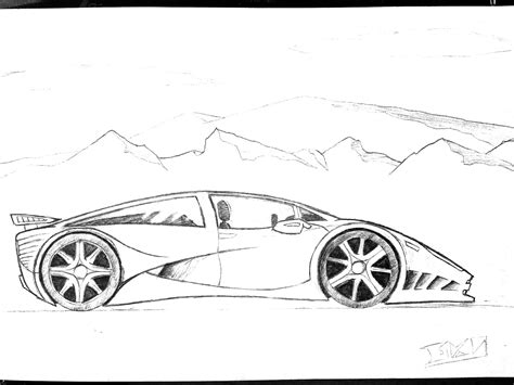 cartoon sports car side view sports cars drawings side view