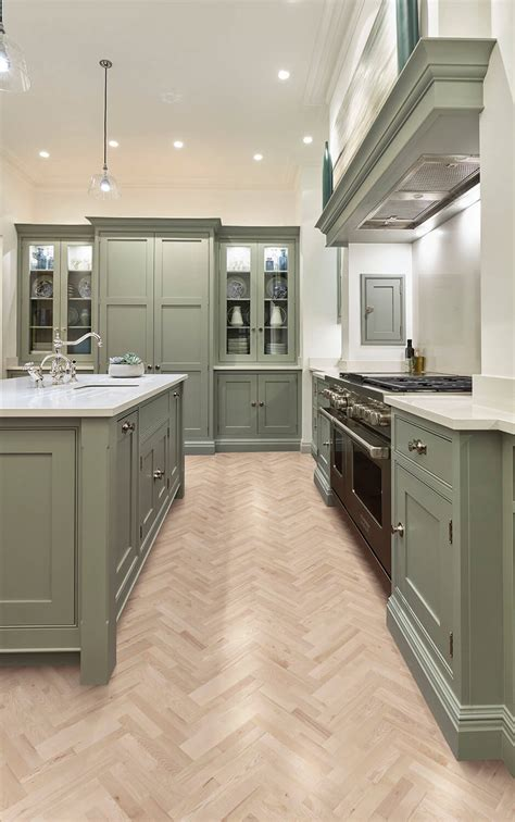 sage green kitchen shaker kitchens tom howley