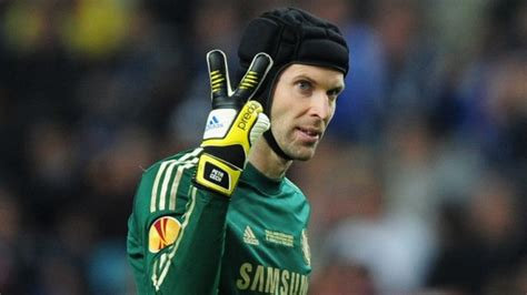 petr cech shows why he is the best goalkeeper in the world chelsea true blue